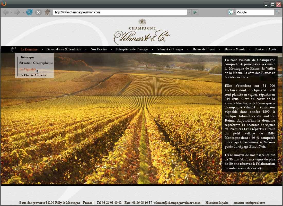 maquette-site_champagnevilmart-20121221_2-3-Le-domaine-Le-Vignoble-copie