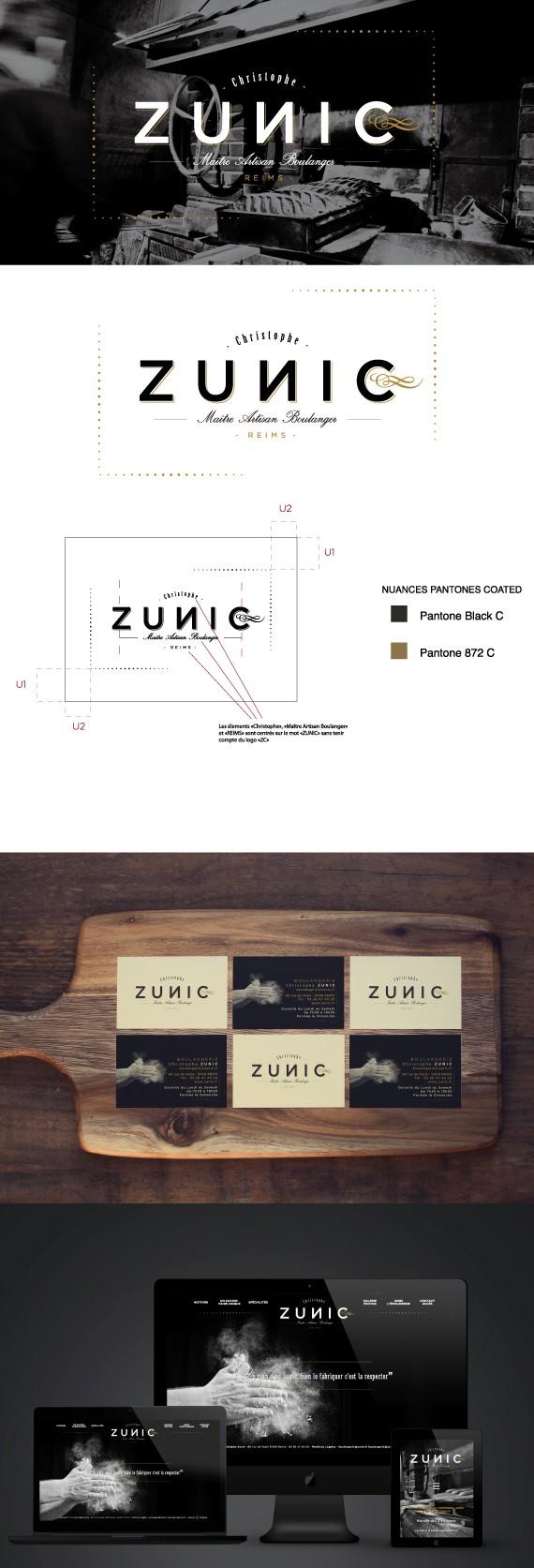 Maquette Boulangerie Zunic