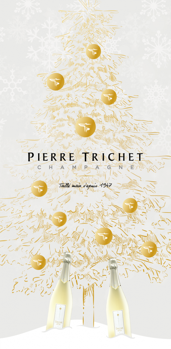 Carte de voeux Pierre trichet